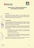 Acord renda garantida de ciutadania