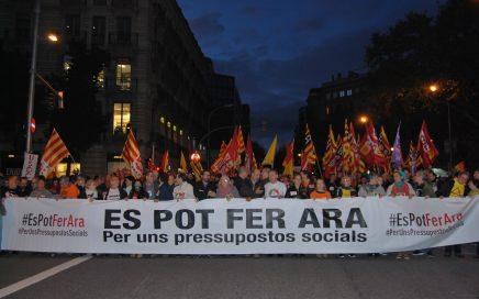 Capçalera manifestació 19N