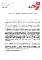 Declaració sobre el futur politic i social de Catalunya