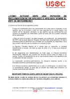 GUIA RECLAMACIÓN IRPF POR MATERNIDAD