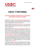 USOC T'INFORMA COMPLEMENT MATERNITAT