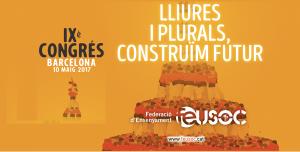 cartell IX Congrés FEUSOC