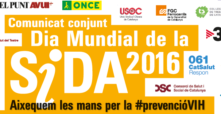 Imatge de la Jornada SIDA 1/12/16