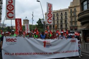 Manifestació 1er de Maig de 2015
