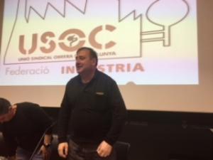 Acte de constitució de l'extensió federal d'Indústria de USOC a Girona