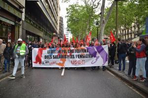 Manifestació per les Rambles