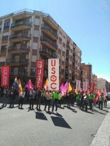 Manifestació a Tortosa