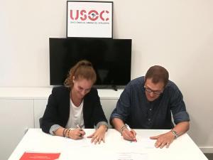 Signatura acord Usoc/Afill