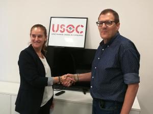 Acord entre USOC i AFILL