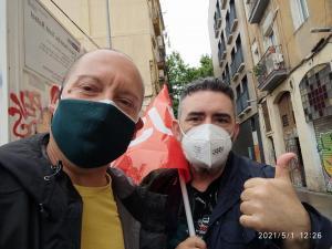 1r Maig 2021 Barcelona